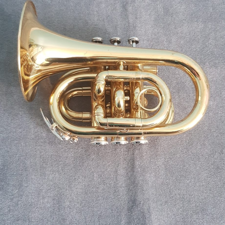POCKET TRUMPET - ELKHART By Vincent Bach T100